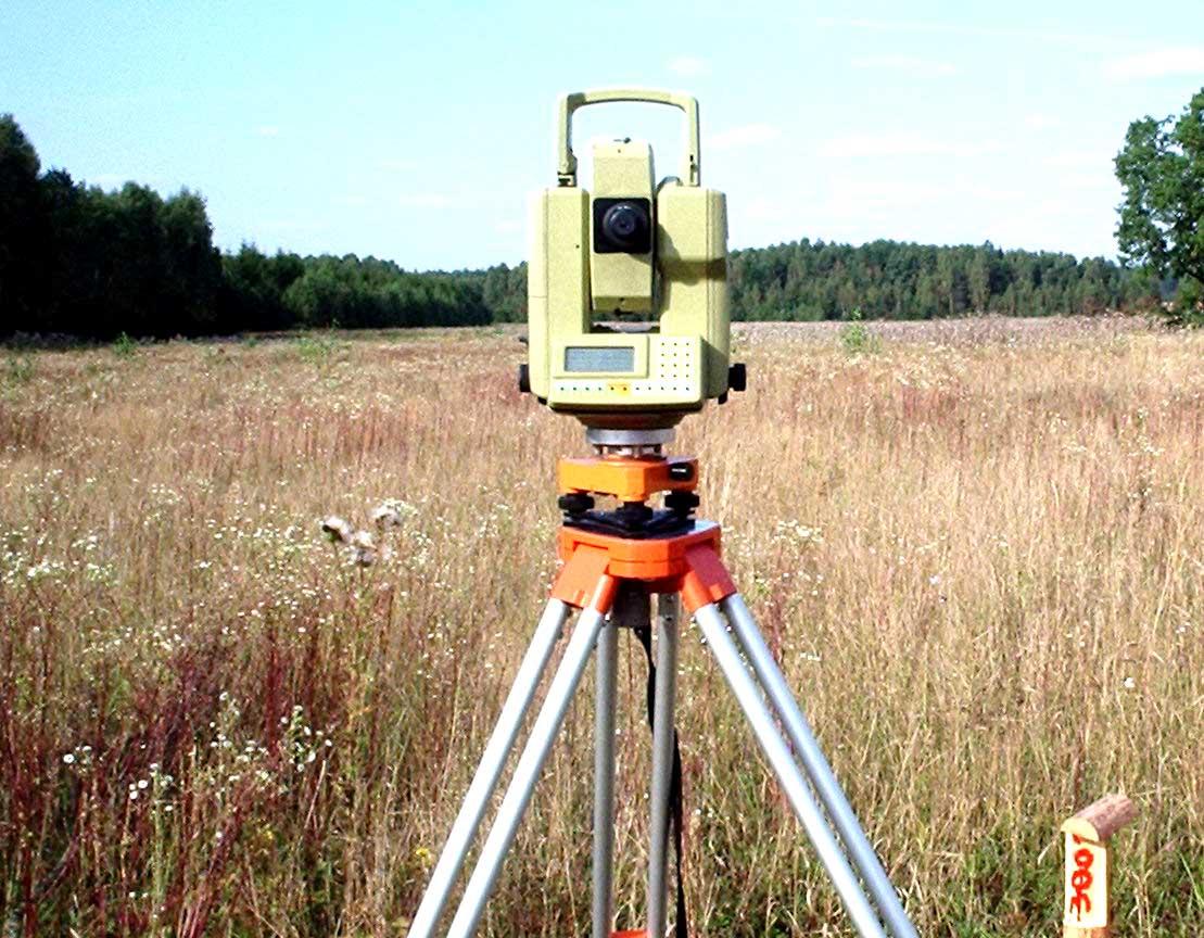 Топографическая съёмка
