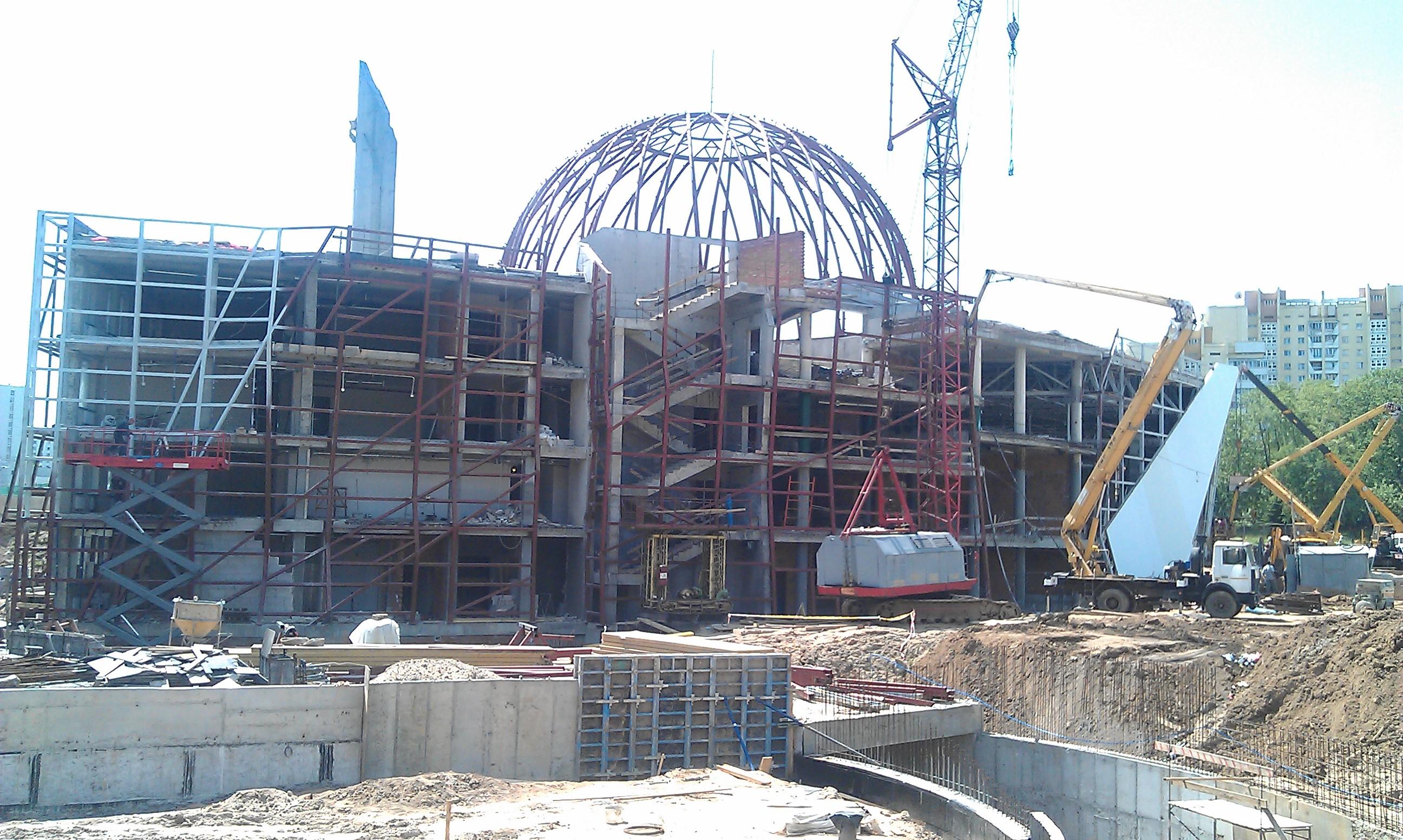 Строительство Музея ВОВ